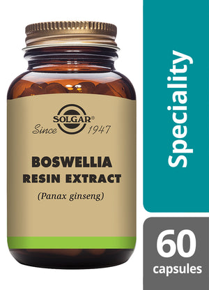 Solgar® Boswellia Resin Extract Vegetable Capsules - Pack of 60