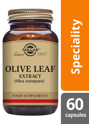 Solgar® Olive Leaf Extract Vegetable Capsules - Pack of 60