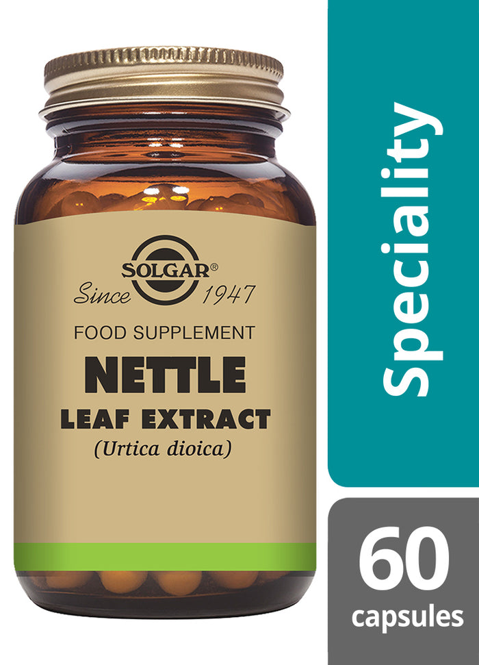 Solgar® Nettle Leaf Extract Vegetable Capsules - Pack of 60