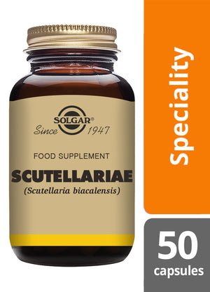 Solgar® Scutellariae Vegetable Capsules - Pack of 50