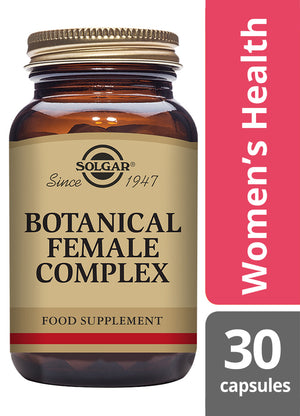 Solgar® Botanical Female Complex Vegetable Capsules - Pack of 30