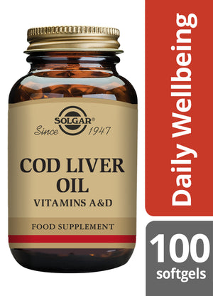 Solgar® Cod Liver Oil Softgels - Pack of 100