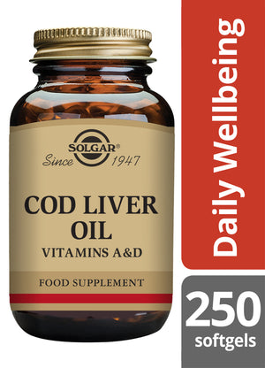 Solgar® Cod Liver Oil Softgels - Pack of 250