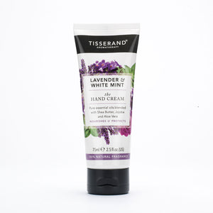 Tisserand Lavender & White Mint Hand Cream 75ml