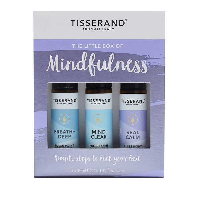 Tisserand Little Box Of Mindfulness 3 x 10ml Rollerballs