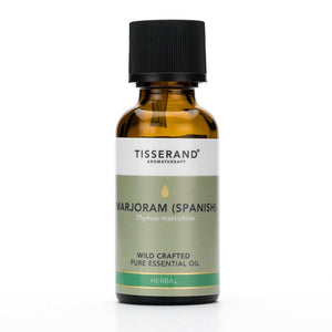 Tisserand Marjoram Spanish Wild Crafted Essential Oil 30ml