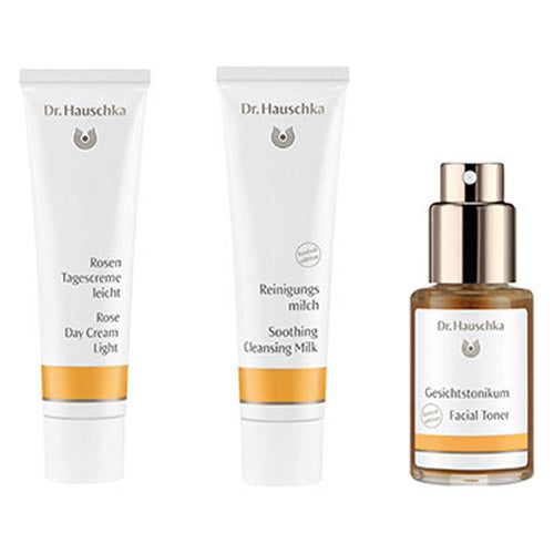 Dr. Hauschka Radiant Rose Light Set 3 x 30ml (Worth £43.43)