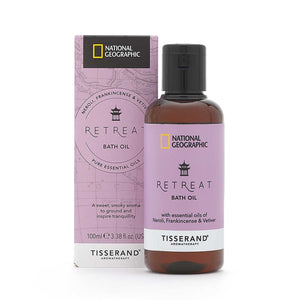 Tisserand National Geographic Retreat Bath Oil 100ml