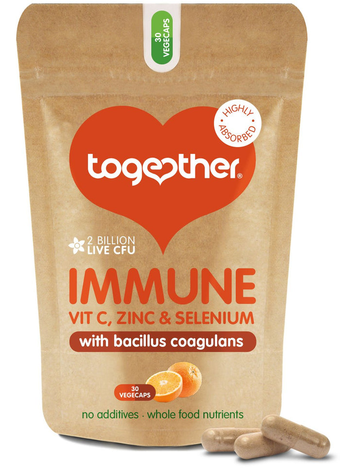 Together Health® Immune Food Supplement - 30 Capsules