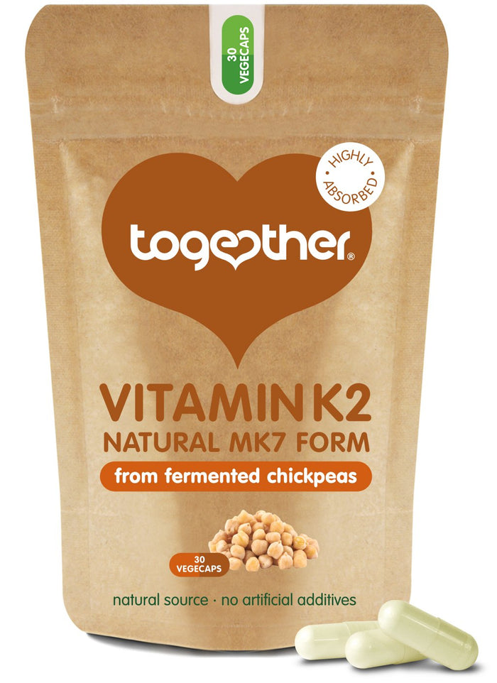 Together Health® Vitamin K2 Food Supplement - 30 Capsules