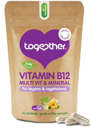 Together Health® WholeVit B12 & Diet Support - 60 Capsules
