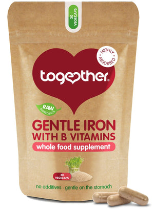 Together Health® WholeVit Gentle Iron Complex - 30 capsules