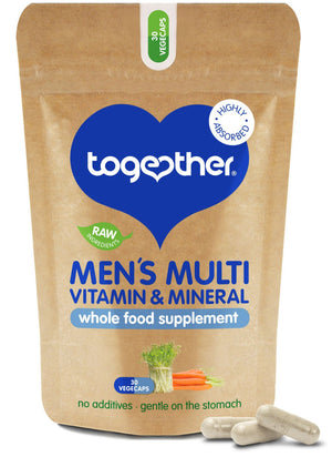 Together Health® WholeVit Men's Multivitamin & Mineral - 30 capsules