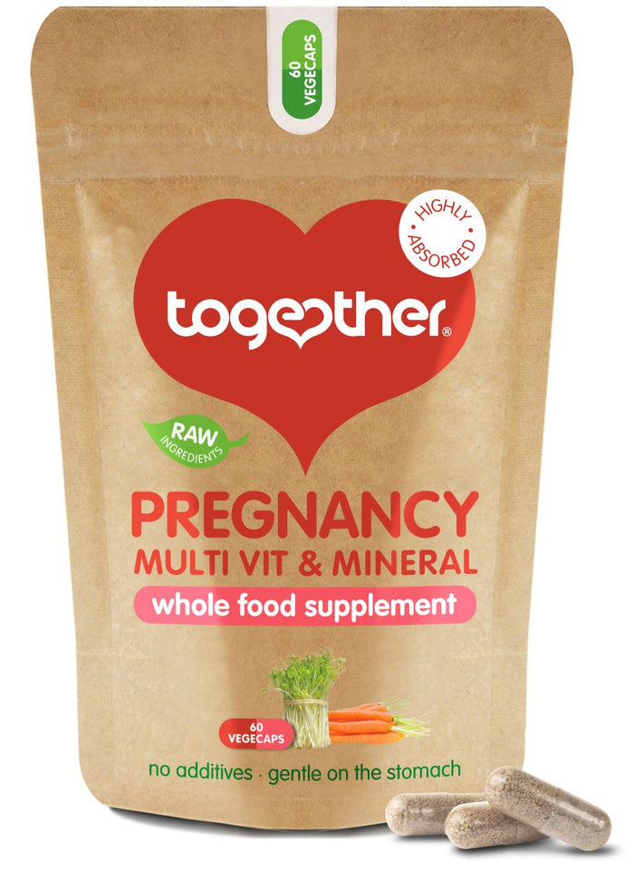 Together Health® WholeVit Pregnancy Multivit- 60 capsules