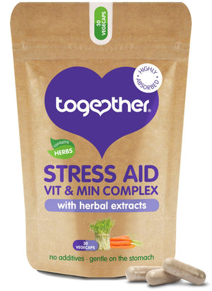 Together Health® WholeVit Stress Aid Complex - 30 capsules