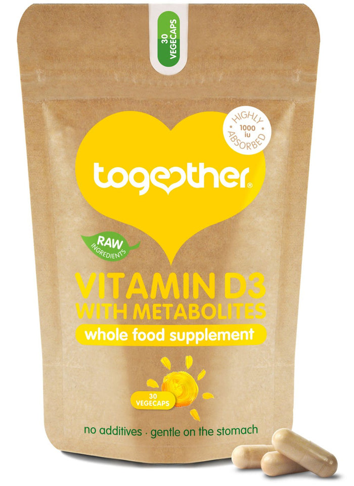 Together Health® WholeVit Vitamin D 1000u with Metabolites - 30 capsules