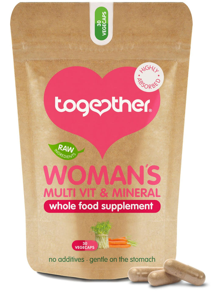 Together Health® WholeVit Women's Multivitamin & Mineral - 30 capsules