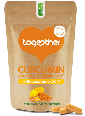 Together Health® WholeHerb Turmeric & Curcumin - 30 Capsules