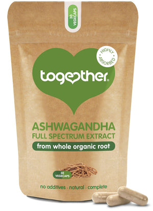 Together Health® WholeHerb Ashwagandha - 30 Capsules
