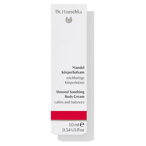 Dr. Hauschka Almond Soothing Body Cream 10ml