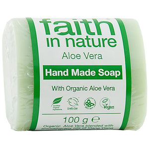 Faith in Nature Aloe Vera Pure Vegetable Soap 100g