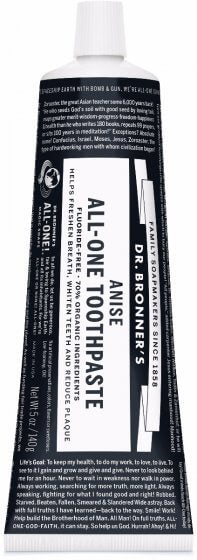Dr. Bronner's All-One Toothpaste Anise 148ml