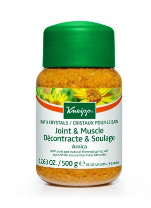 Kneipp Mineral Bath Salt Crystals Joint Muscle Arnica 500g