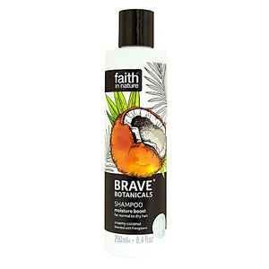 Faith in Nature Brave Botanicals Coconut & Frangipani Moisture Boost Shampoo 250ml