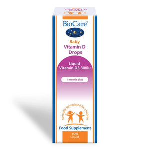 Biocare Baby Vitamin D 300iu Drops 15ml