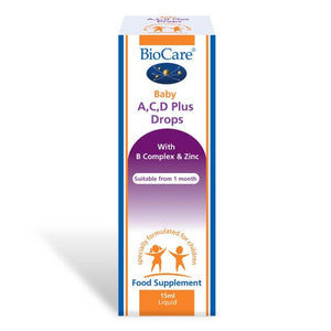 Biocare Baby A, C, D Plus Drops 15ml