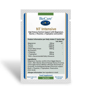 Biocare NT Intensive 14 Sachets