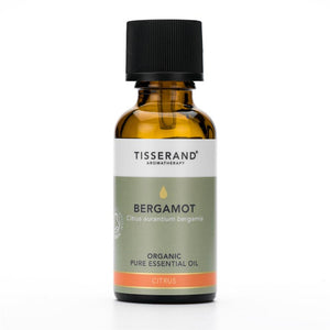 Tisserand Bergamot Organic Essential Oil 30ml