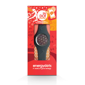 EnergyDOTS bioBAND + smartDOT - Grey Medium