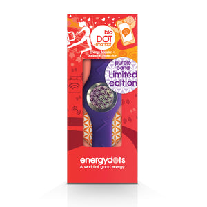 EnergyDOTS bioBAND + smartDOT - Purple Medium
