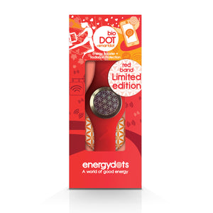 EnergyDOTS bioBAND + smartDOT - Red Medium