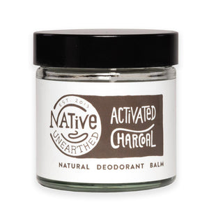 Native Unearthed Natural Deodorant Activated Charcoal 60 ml