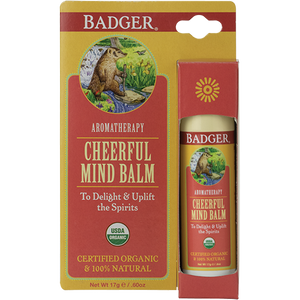 Badger Cheerful Mind Balm 17g