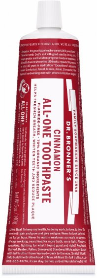 Dr. Bronner's All-One Toothpaste Cinnamon 148ml