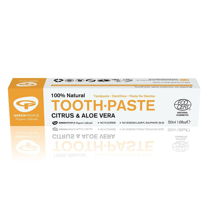 Green People Citrus & Aloe Vera Toothpaste 50ml