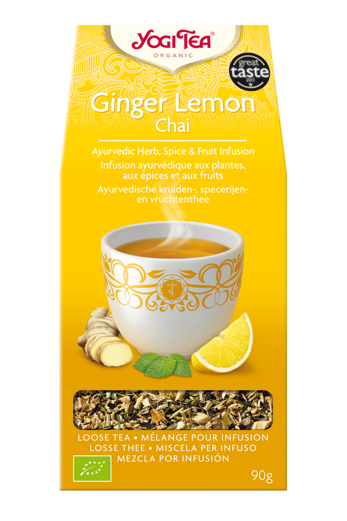 Yogi Tea® Ginger Lemon Chai 90g