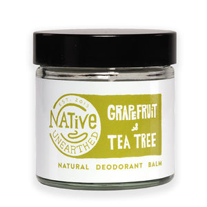 Native Unearthed Natural Deodorant Grapefruit and Tea Tree Balm 60ml