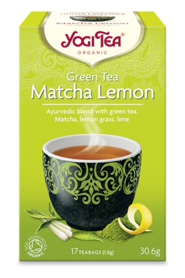 Yogi Tea® Green Tea Matcha Lemon Organic 17 Bag