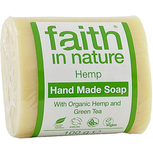 Faith in Nature Hemp Pure Vegetable Soap 100g