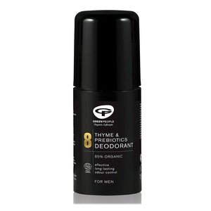Green People Homme No.8 Thyme & Prebiotics Roll On Deodorant 75ml