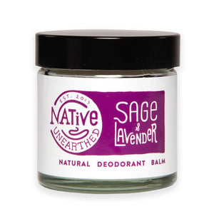 Native Unearthed Natural Deodorant Lavender and Sage Balm 60ml