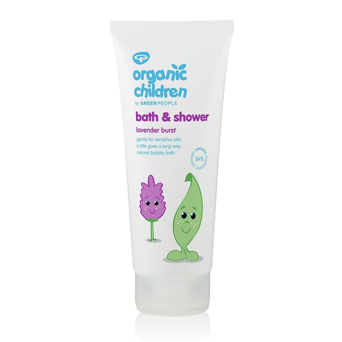 Green People Organic Children Lavender Bath & Shower Gel 200ml