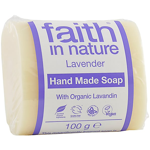 Faith in Nature Lavender Pure Vegetable Soap 100g