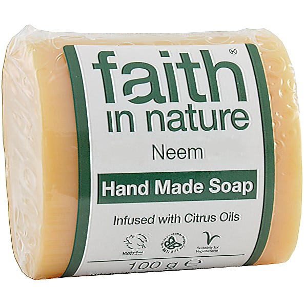 Faith in Nature Neem Pure Vegetable Soap 100g