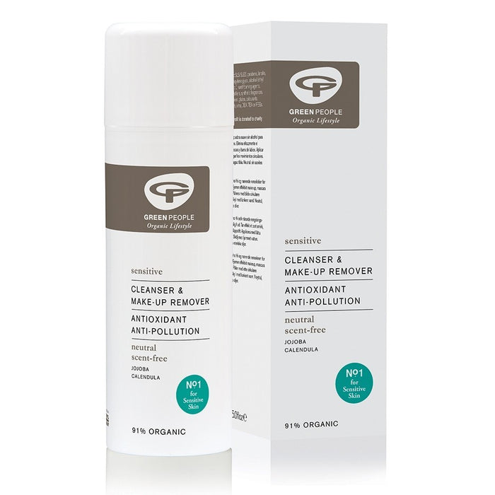 Green People Scent-Free Cleanser & Make-Up Remover 150ml