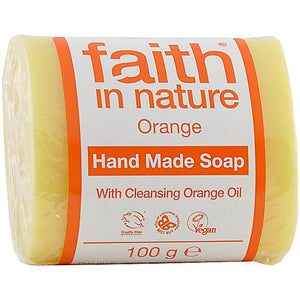 Faith in Nature Orange Pure Vegetable Soap 100g